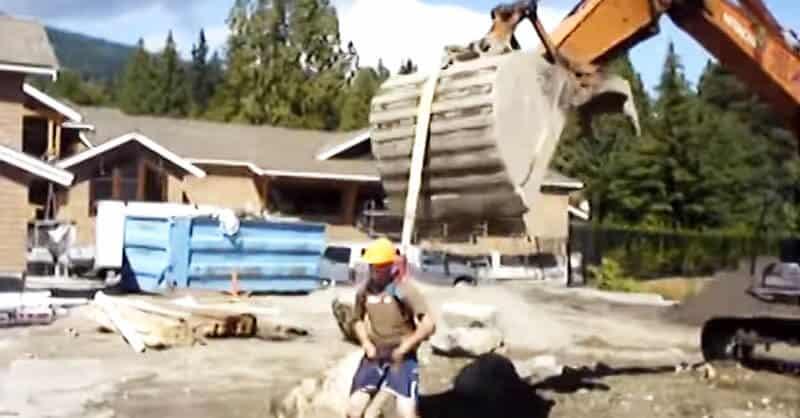 Excavator Ride