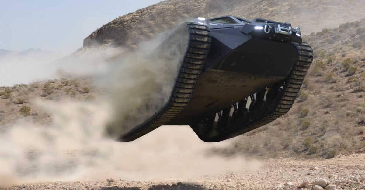 Luxury Civilian Tank Dunes