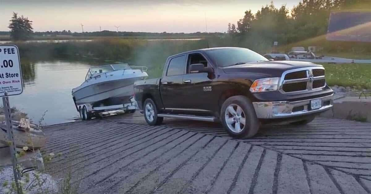 Dodge Ram Skag Down boat