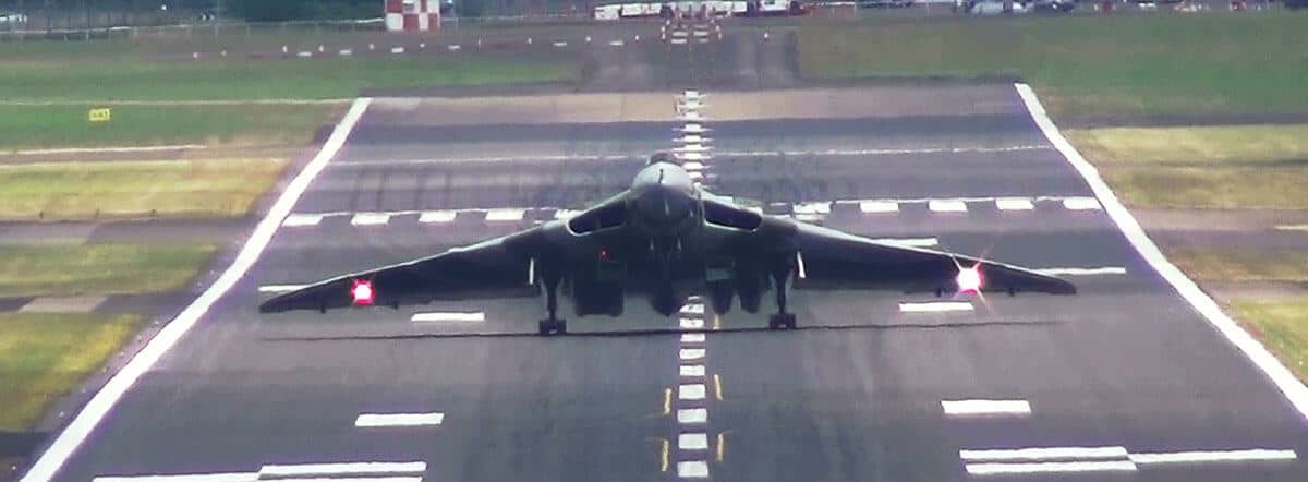 Vulcan Wheelie landing