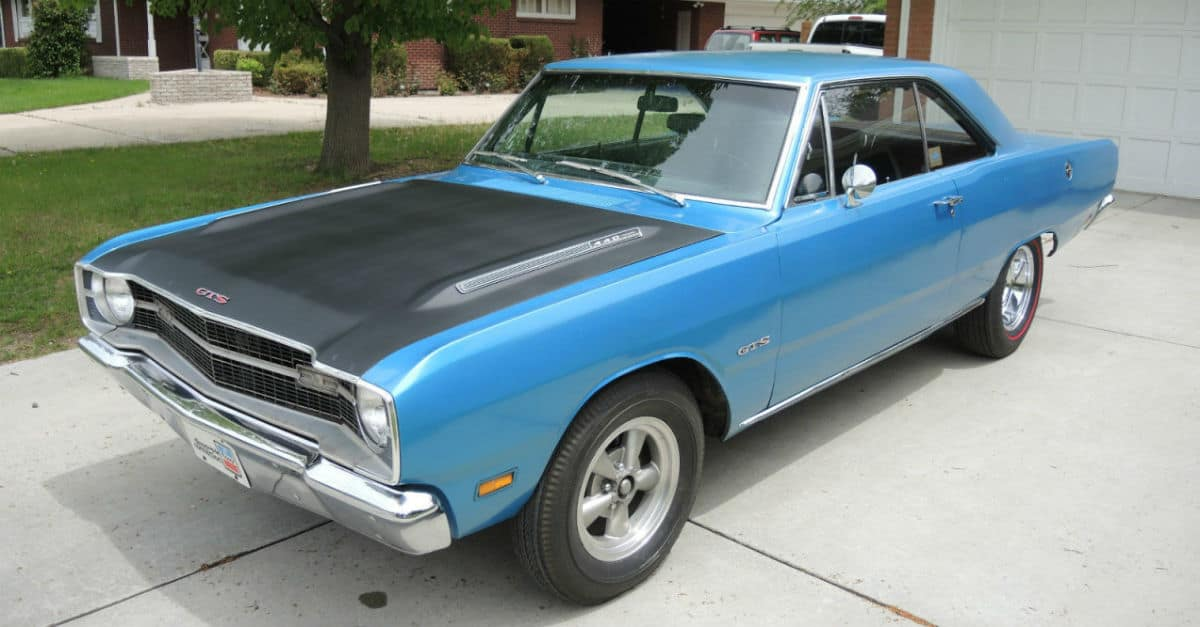fastest american muscle cars 1969 dodge dart 440