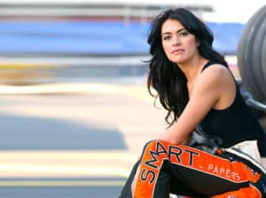 leilani Woman Race Car driver
