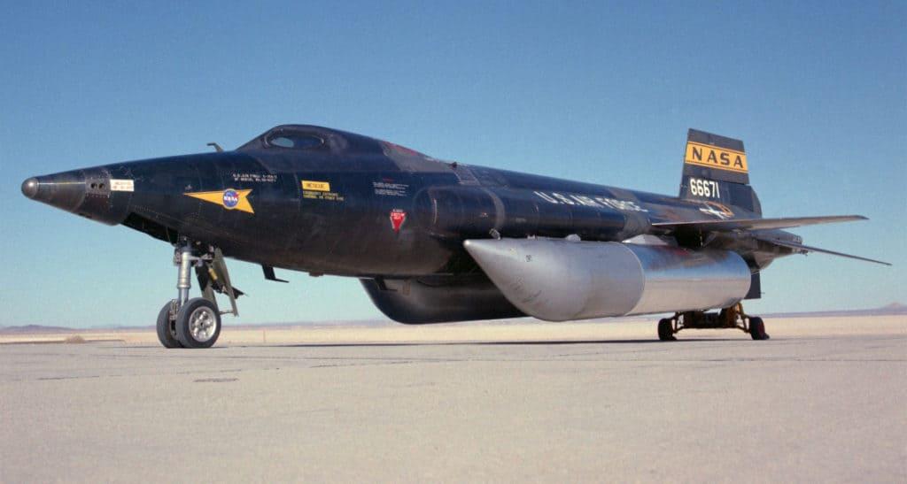 x-15 Fast NASA Aircraft
