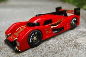pinewood Audi formula car