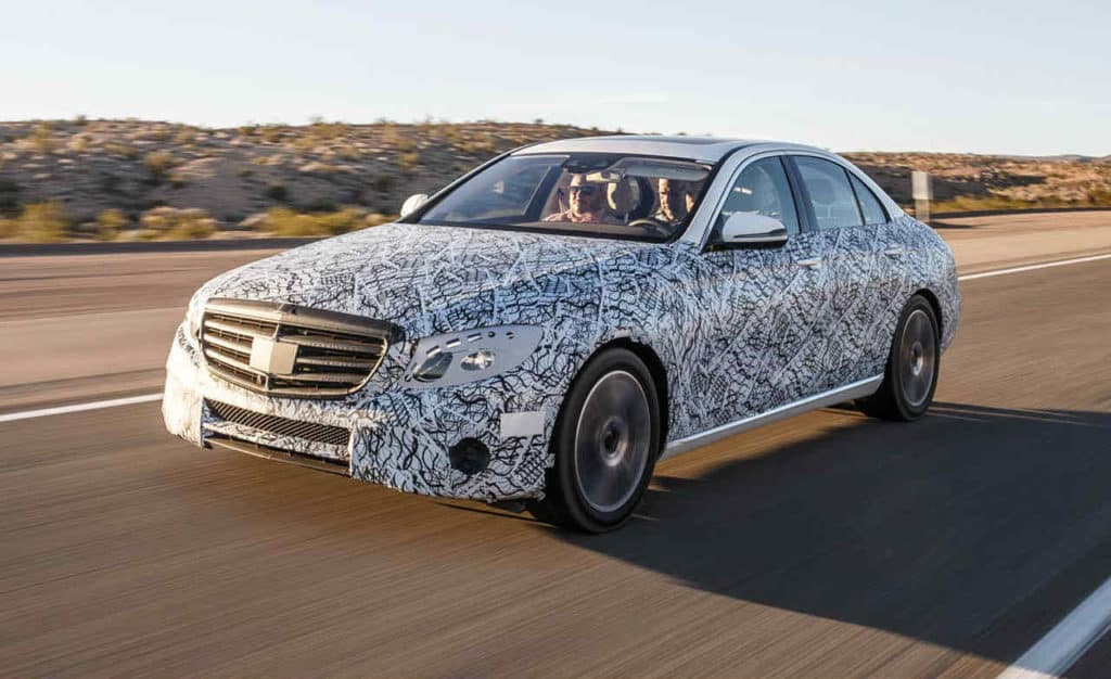 new Mercedes Benz