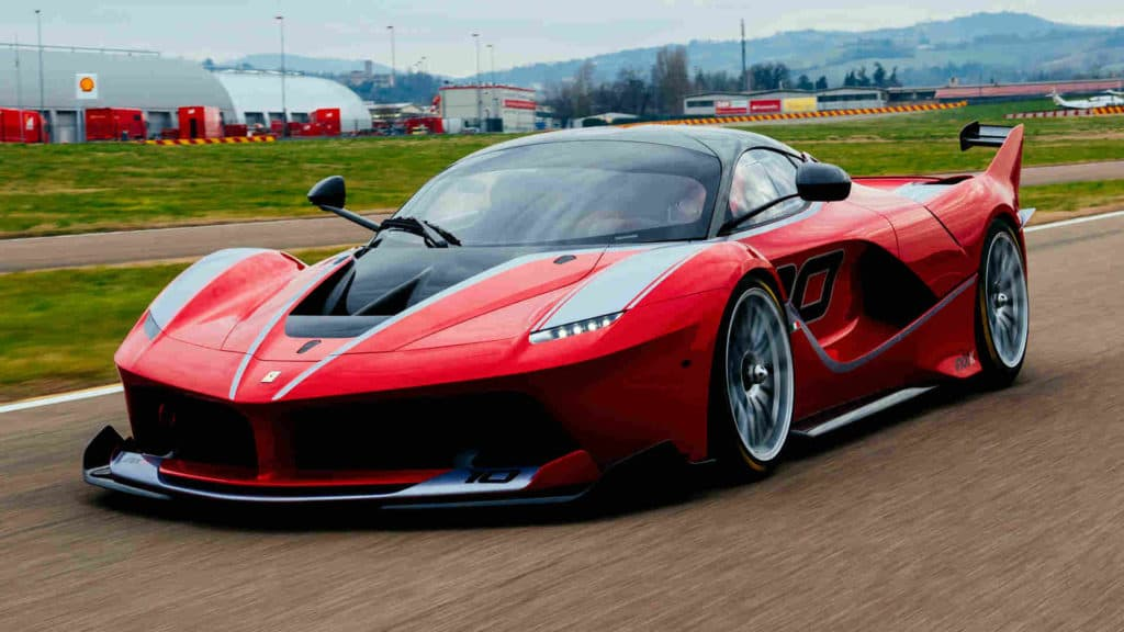 Supercar red