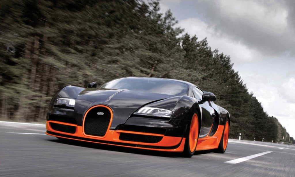 Bugatti Veyron supercar
