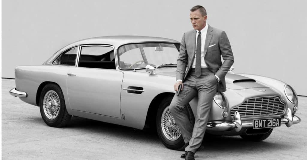 James Bond Aston Martin Cars