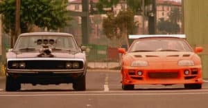 The Fast and the Furious Supra movie car