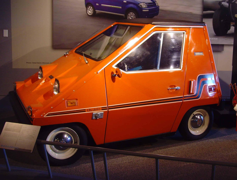 Sebring-Vanguard Citicar orange ugly cars