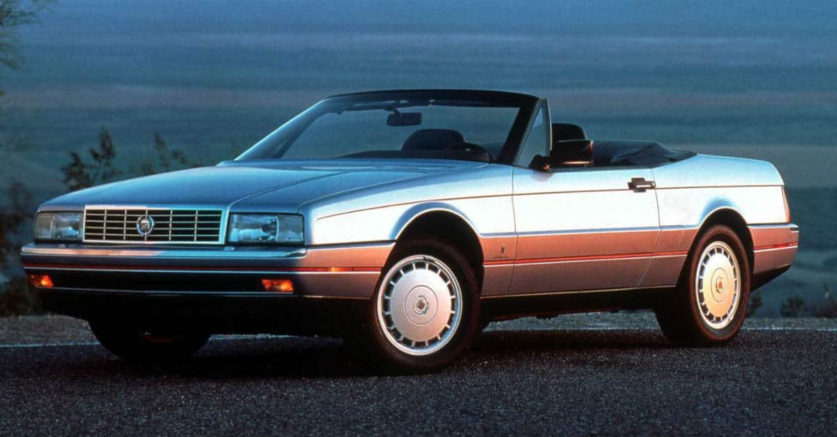 Cadillac Allanté convertible
