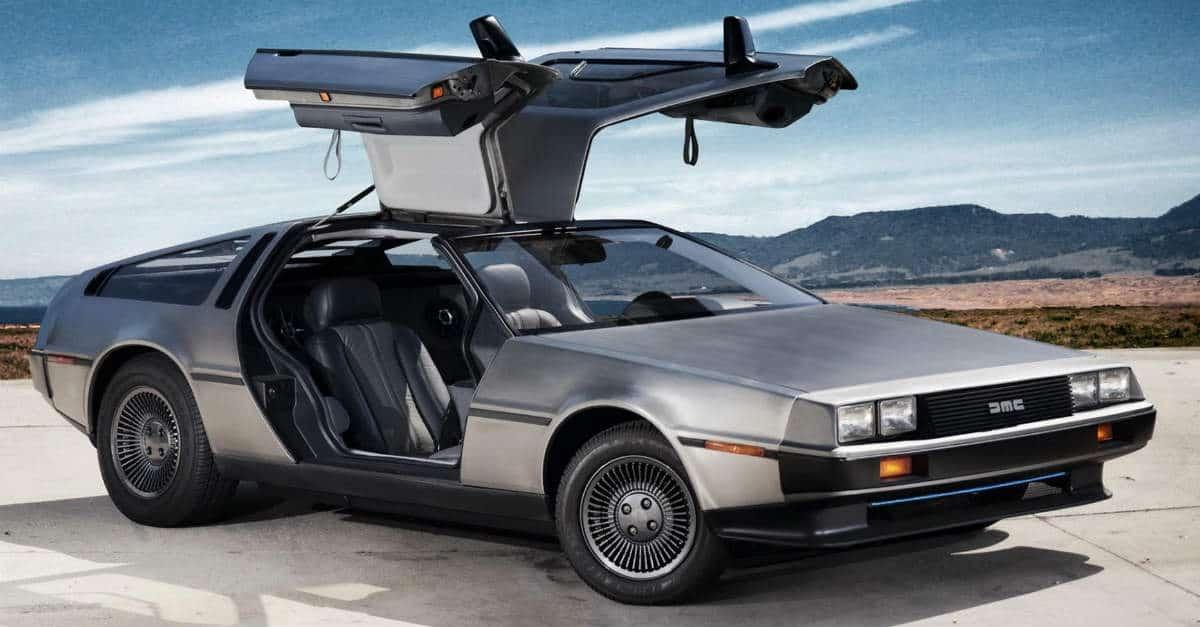 DeLorean DMC-12 back to the future car