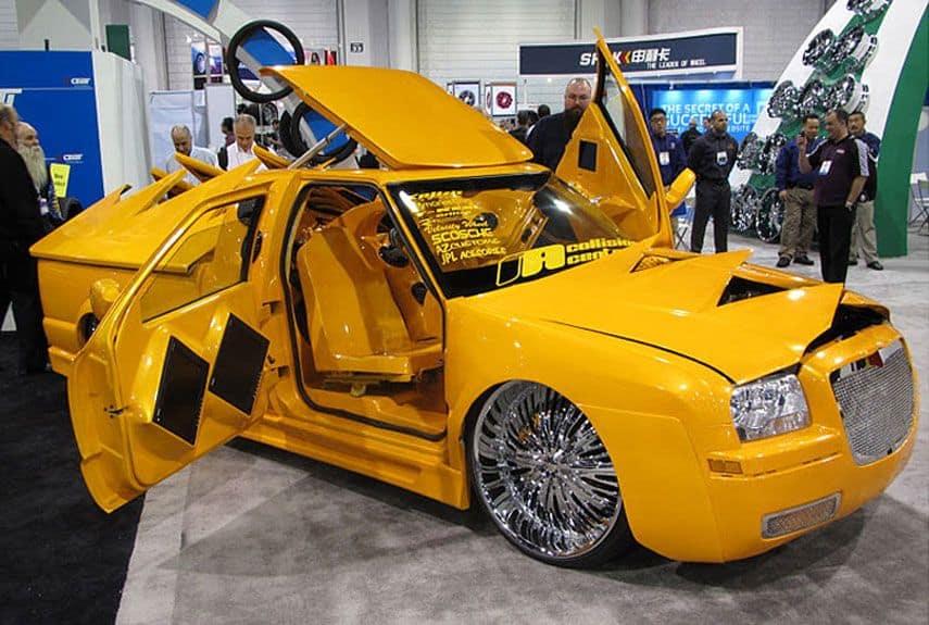 Yellow car mod
