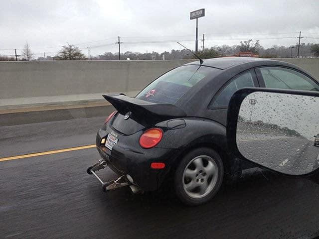 VW beetle weird car mod