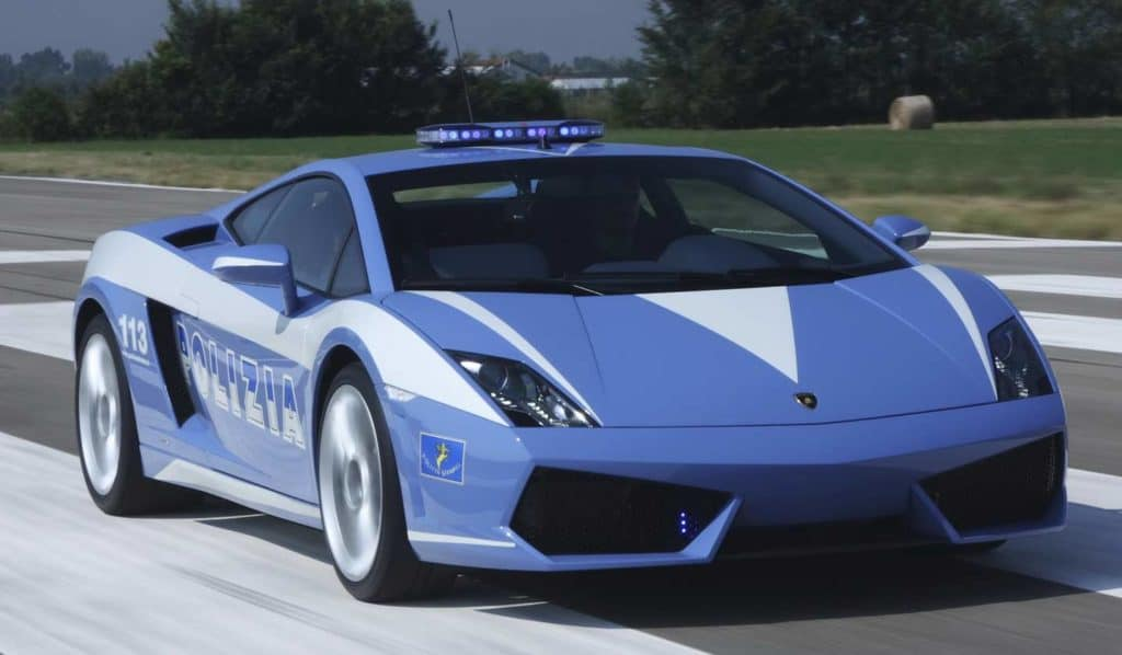 Lamborghini Gallardo LP560 Italian state police