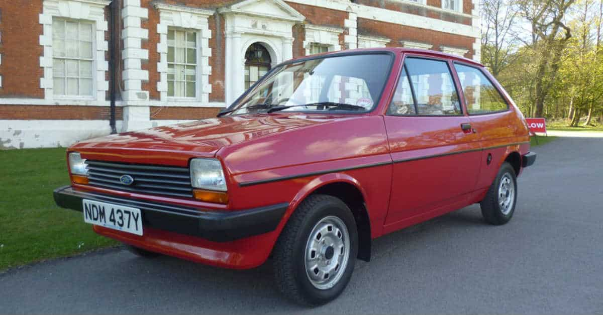 Ford Fiesta, First Generation