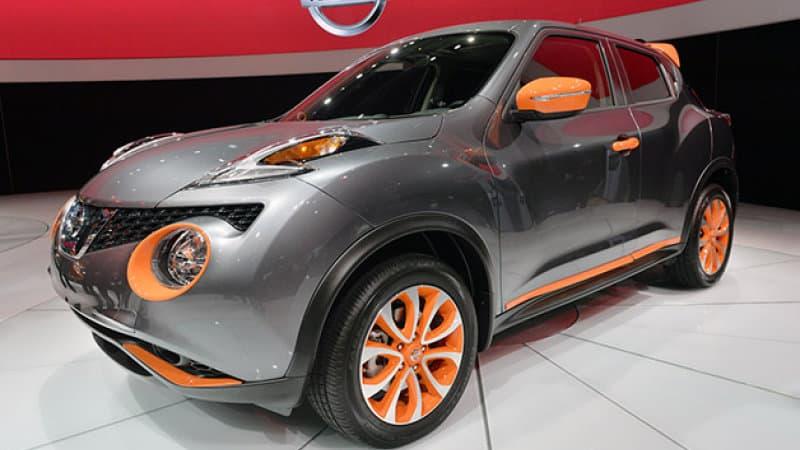 Nissan Juke car show