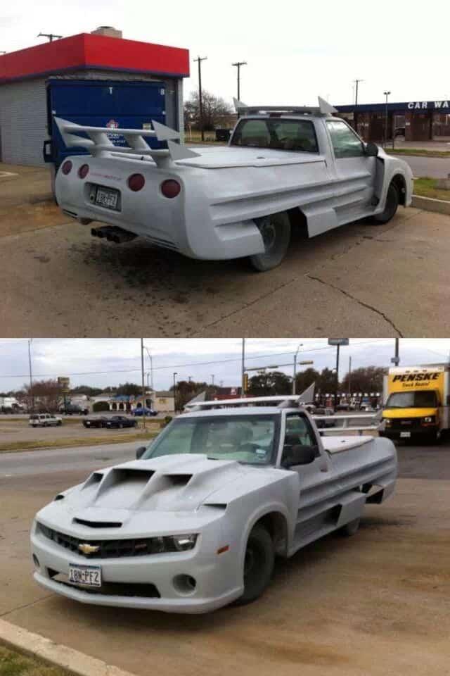 Camero Truck mod