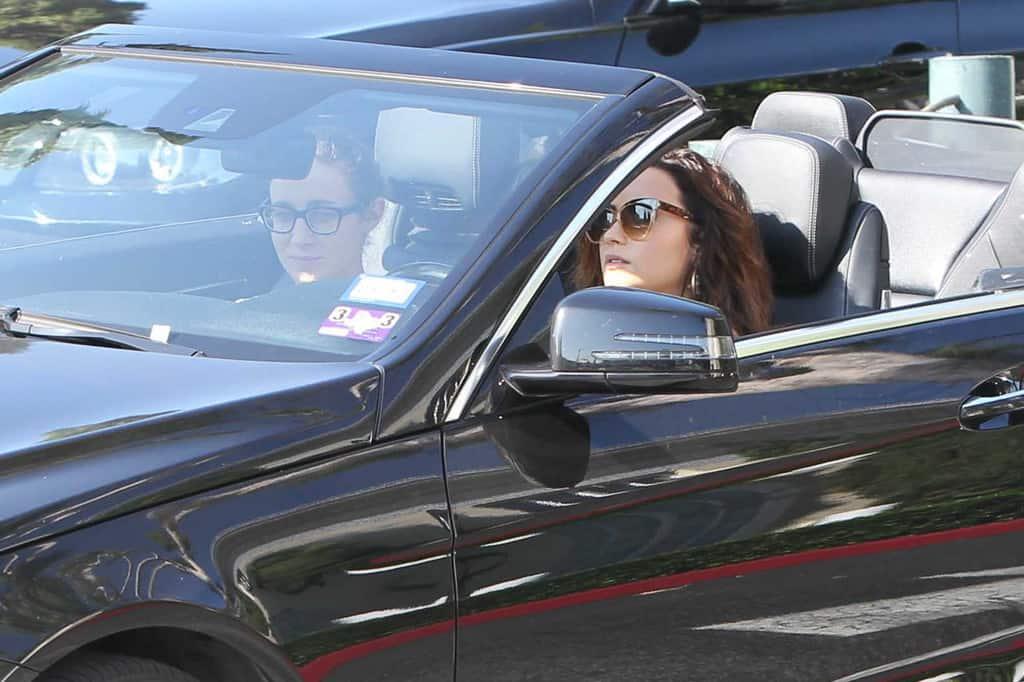 Demi Lovato Mercedes