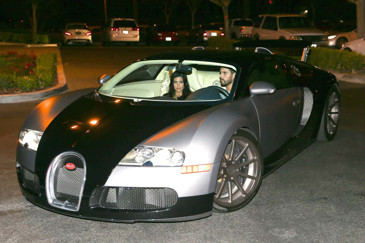 Kourtney Kardashian Bugatti