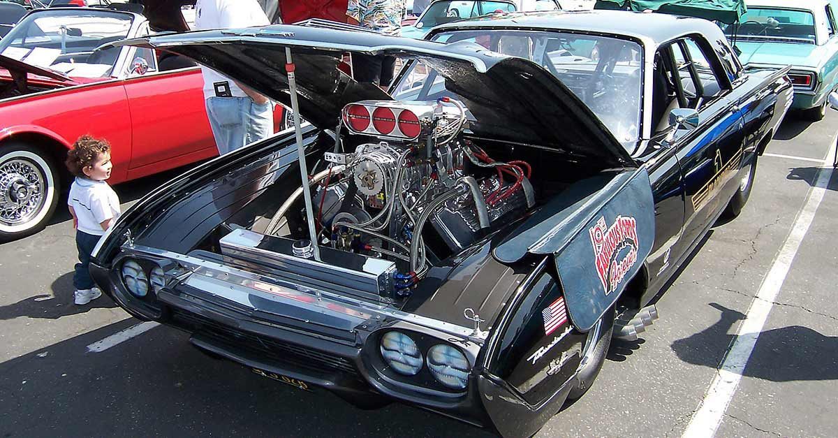 1961_Ford_Thunderbird_dragster