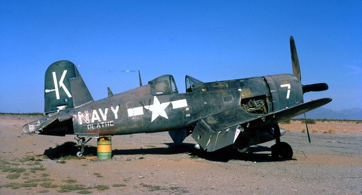 Navy abandoned plane