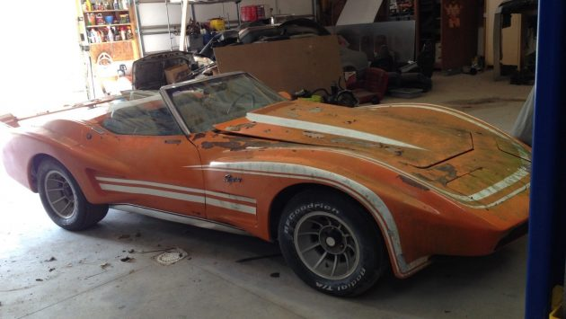 1968 Corvette Barn Find