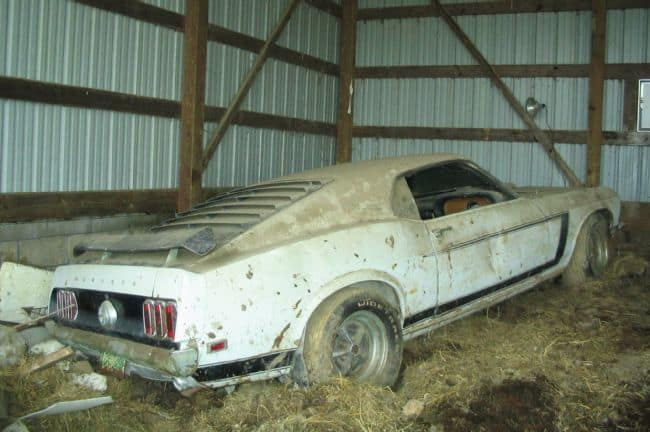 1969 Mustang Barn Find