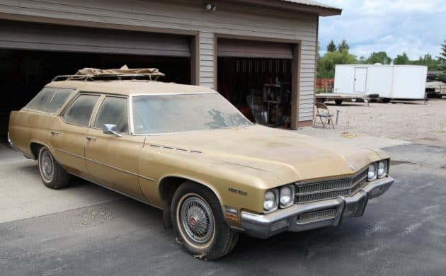 1971 Buick Estate Wagon Barn Find