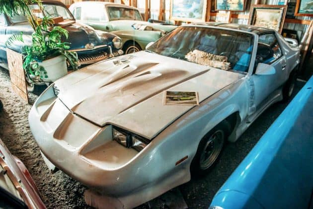 1984 Camaro Z28 Barn Find