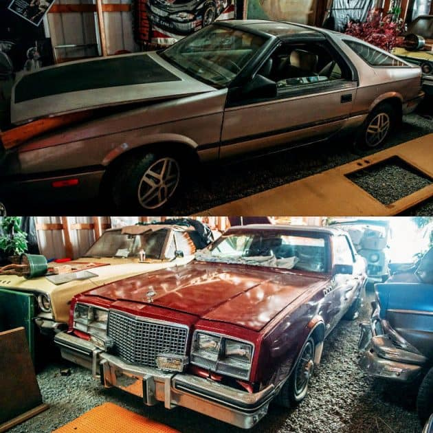 Chrysler Buick Barn Find