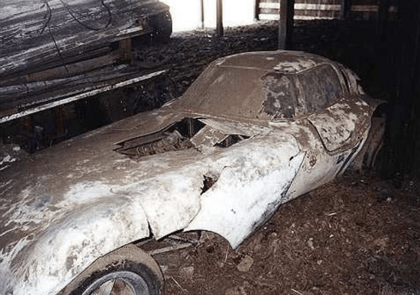 Chevy Cheetah Barn Find