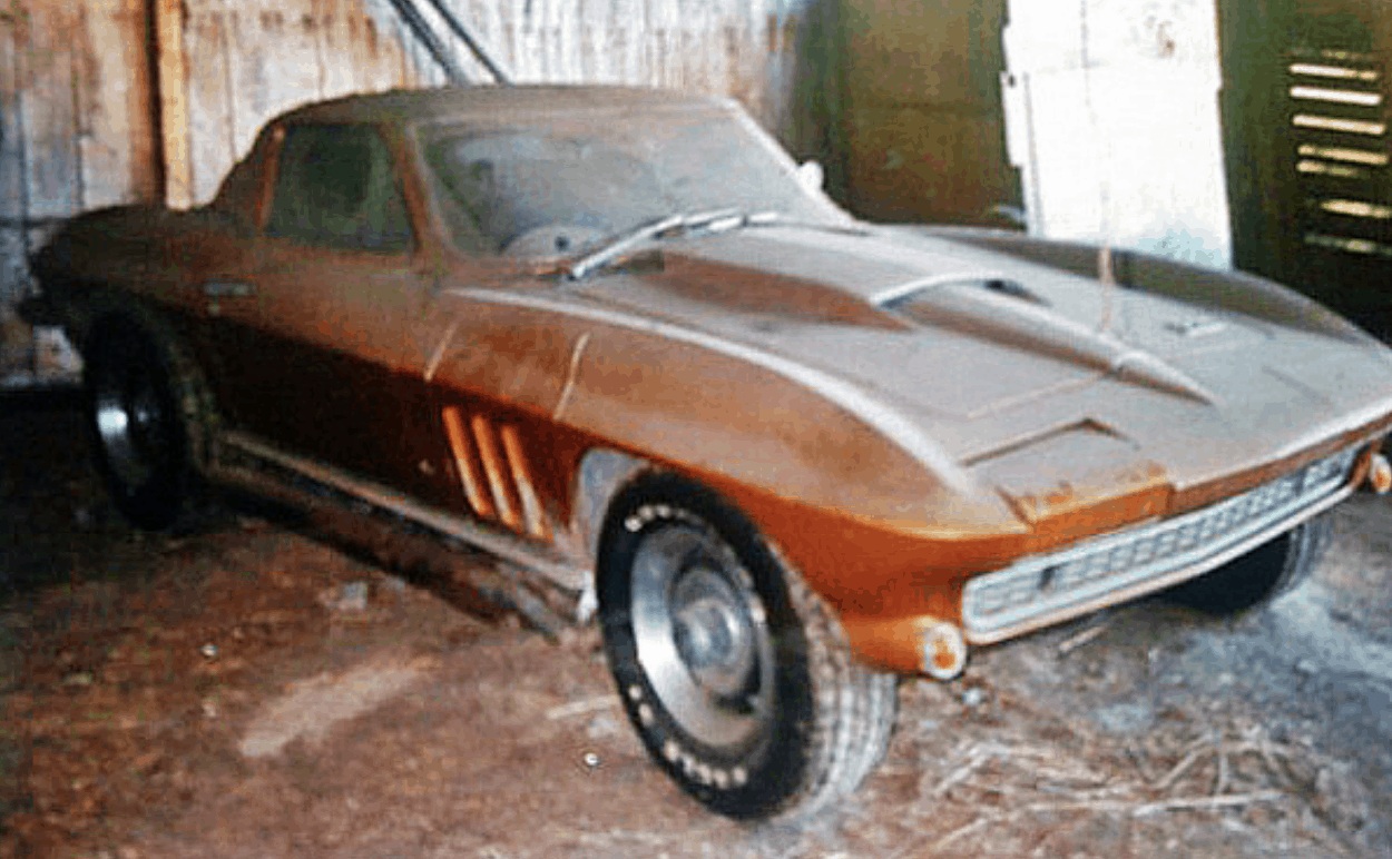 Corvette Coupe Barn Find