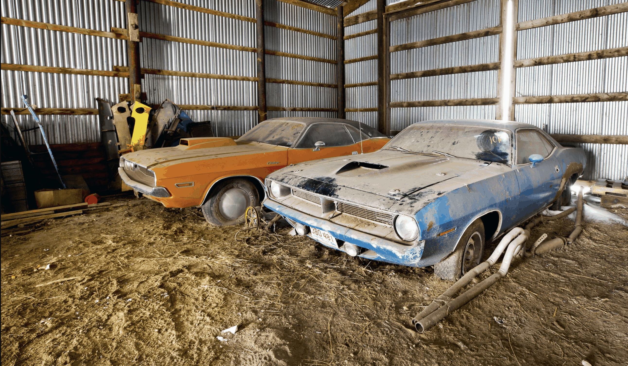 Classic & Rare Muscle Cars Found