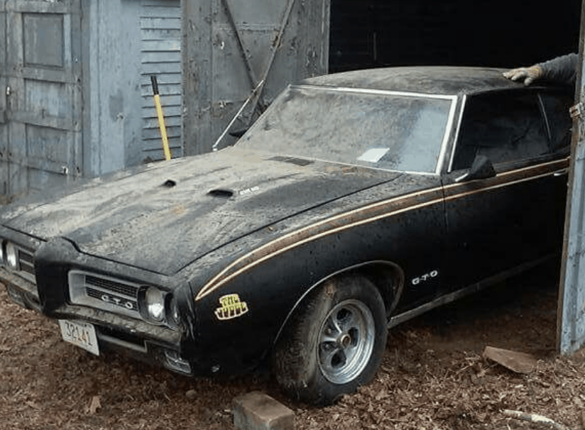 GTO Judge Barn Find