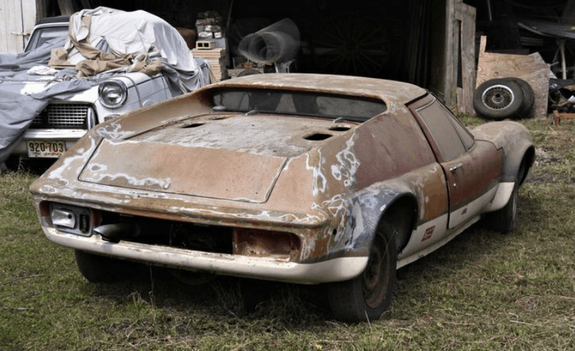 1970 Lotus Europa Barn find