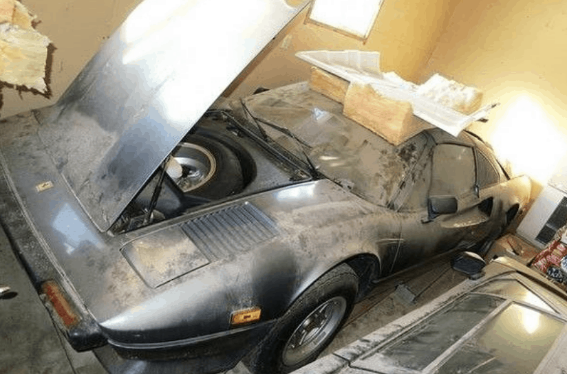 1979 Ferrari 308 GTS Barn Find