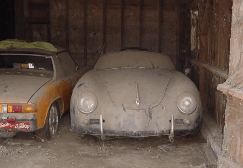 Porsche Barn Finds