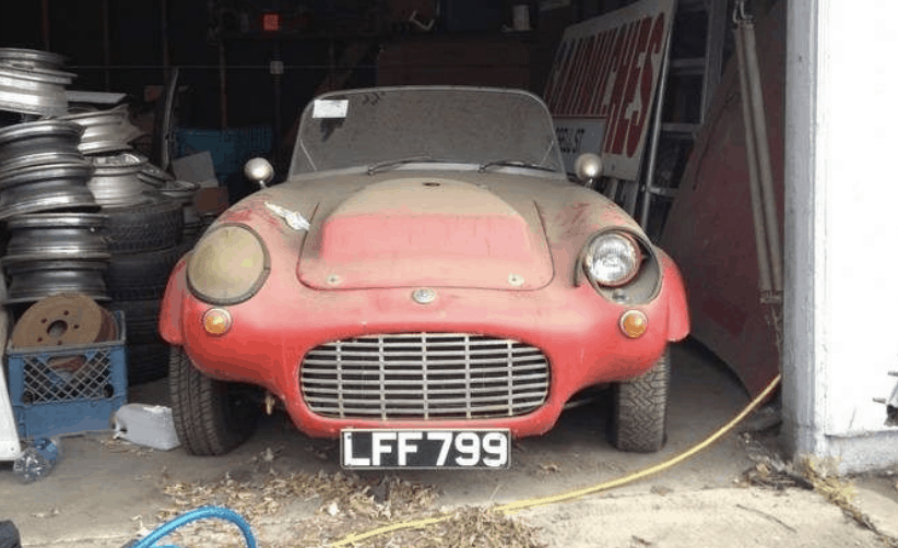 Berkeley Racer Barn Find