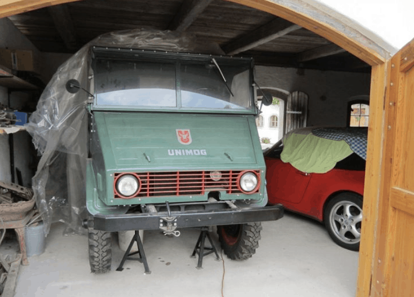 Mercedes Unimog Barn Find