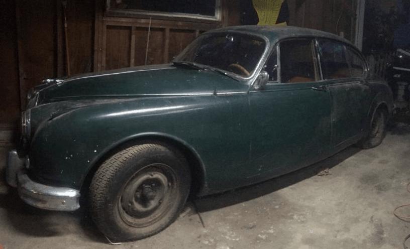 Jaguar Mk2 Barn Find