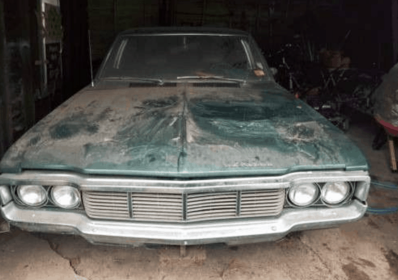 AMC Matador Barn Find