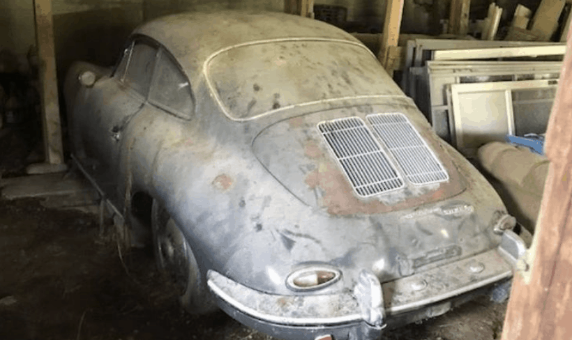Porsche 356 Barn Finds