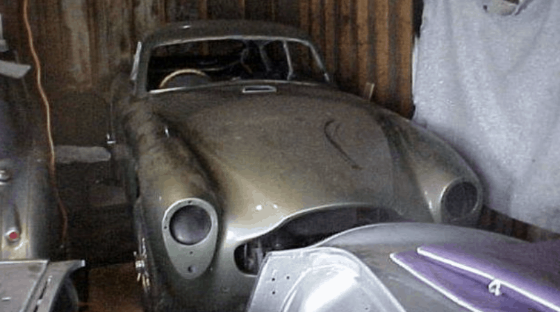 Sterling Moss Barn Find