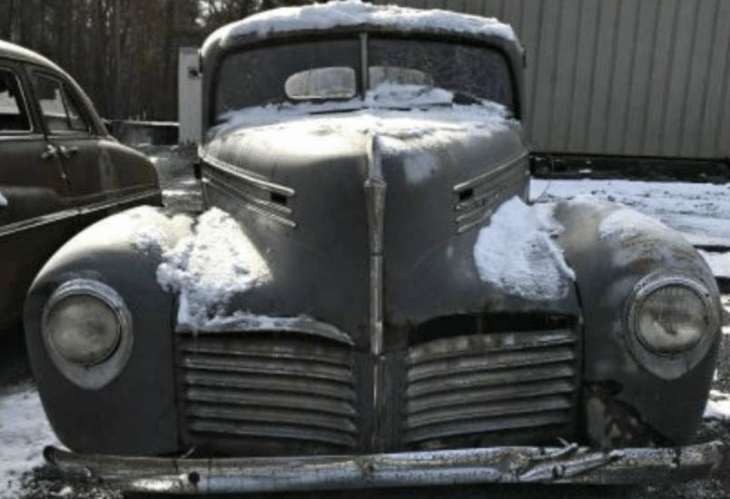 Hudson Business Barn Find