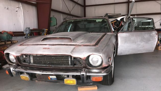 Aston Martin Barn Find