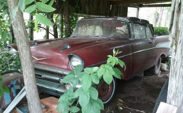 Chevy Bel Air Barn Finds
