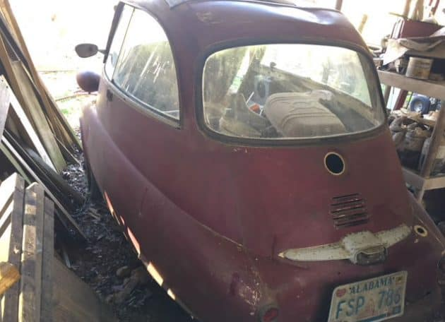 isetta rear Barn Find