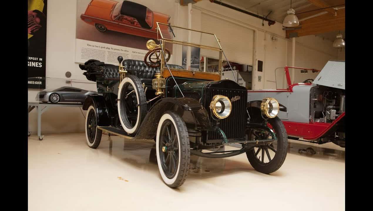 1910 White Steam Car Model