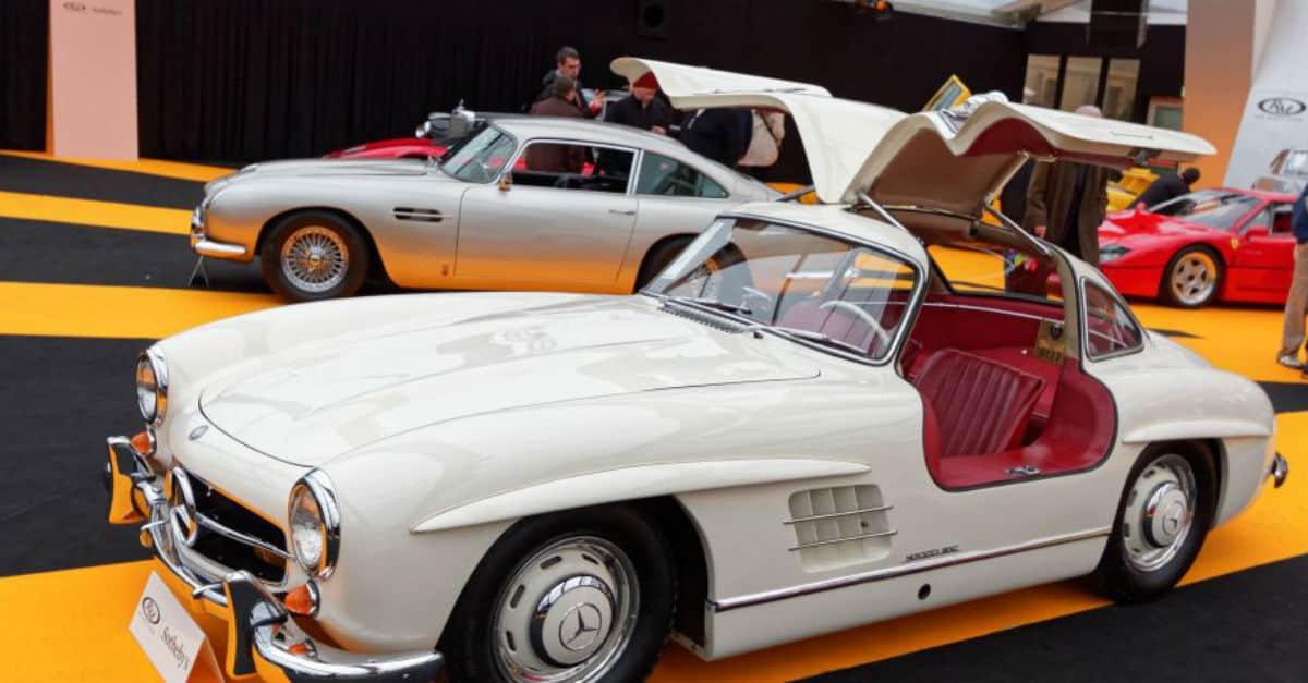 1955 Mercedes 300SL Gullwing Jerry Seinfeld